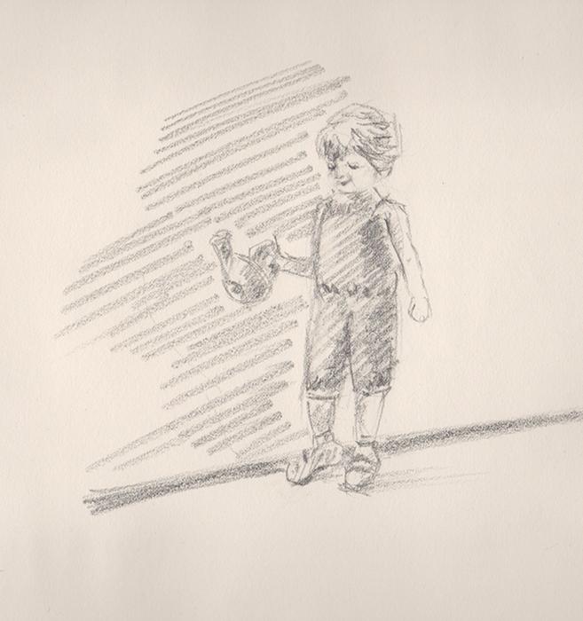 Croquis passion dessin peinture page 2 for Croquis jardin