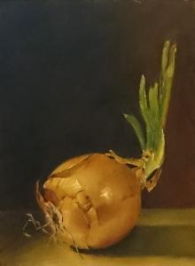Peinture à l'huile sur panneau