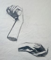 dessin de main